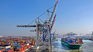 Container Terminal – Hamburg (refer to: Newsletter Export Control – Information Service of Federal Office for Economic Affairs and Export Control (BAFA))