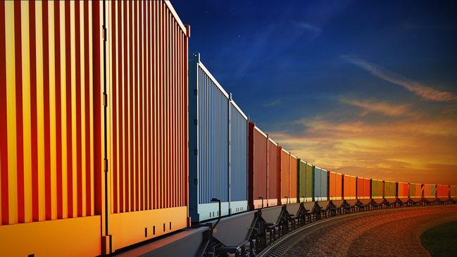 Container train (refer to: Import Restrictions)